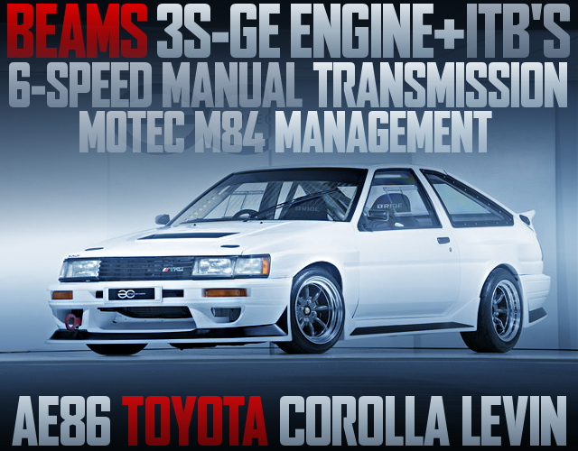 3SGE ENGINE 6MT AE86 LEVIN WIDEBODY