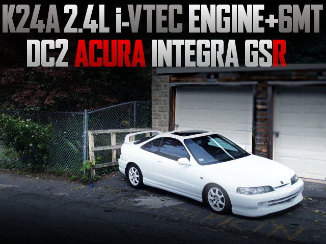 K24A iVTEC ENGINE WITH 6MT DC2 ACURA INTEGRA GSR