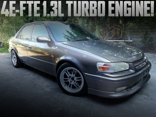 4EFTE TURBO ENGINE AE110 COROLLA SEDAN