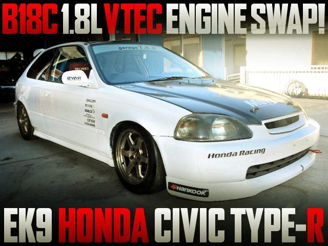 B18C VTEC ENGINE EK9 CIVIC TYPE-R
