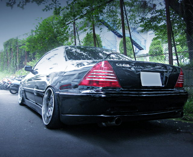 REAR EXTERIOR BENZ W220 CONVERSION JZX100 MARK2