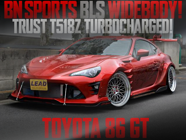 BN LUXURY SPORTS BODY TOYOTA 86GT