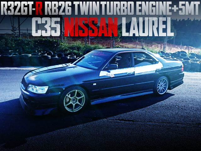 RB26 TWINTURBO ENGINE C35 LAUREL