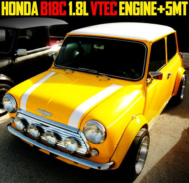 B18C VTEC ENGINE WITH 5MT CLASSIC MINI