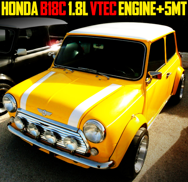 B18C VTEC ENGINE WITH 5MT CLASSIC MINI