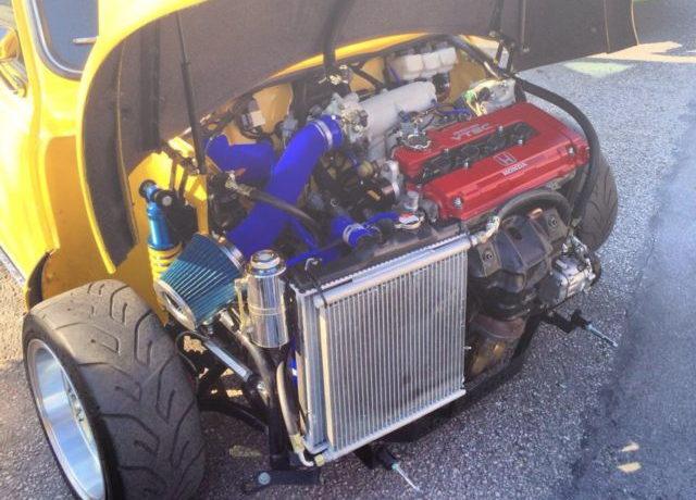B18C VTEC ENGINE INTO CLASSIC MINI