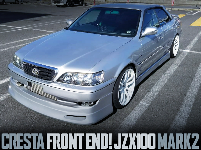 CRESTA FRONT END JZX100 MARK2 SILVER