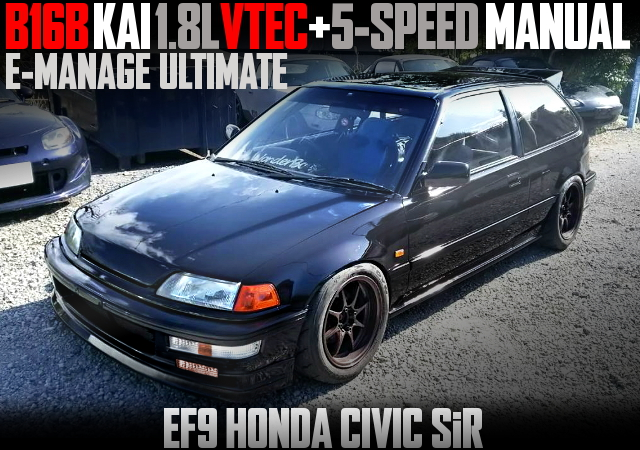 B16B KAI 1800cc VTEC ENGINE EF9 CIVIC HATCH SiR