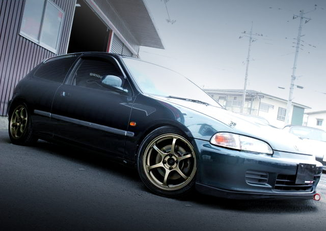 FRONT EXTERIOR EG6 CIVIC SIR2 DEEP GREEN