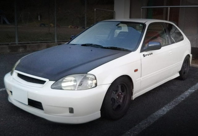FRONT EXTERIOR EK9 CIVIC TYPE-R
