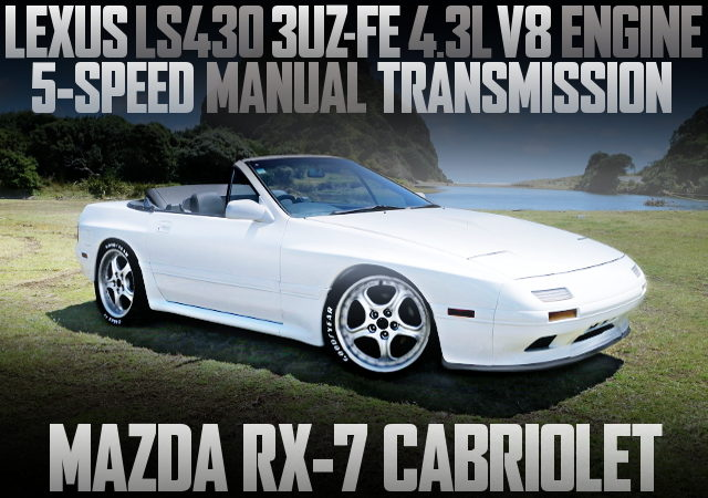 3UZ V8 ENGINE WITH 5MT FC3C RX7 CABRIOLET