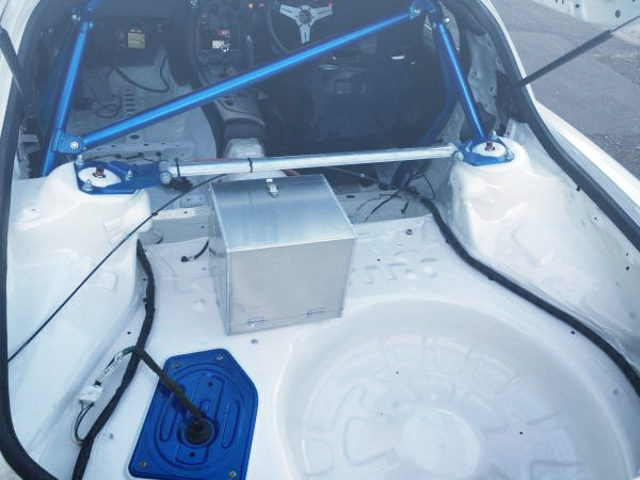ROLL BAR AND BATTERY ALUMI BOX