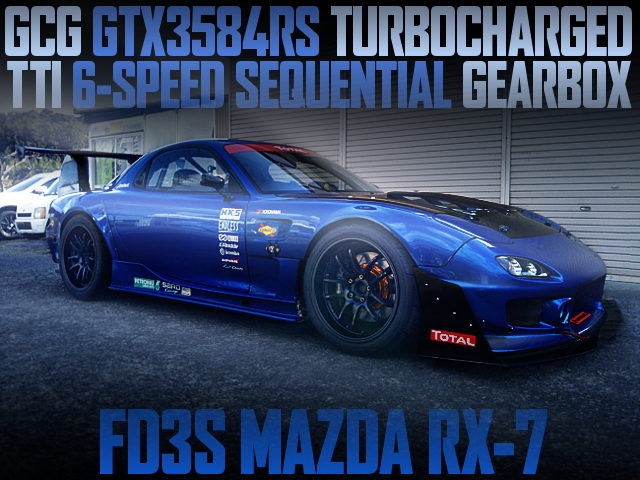GCG GTX3584RS TURBO 6-SPEED-SEQUENTIAL FD3S RX7
