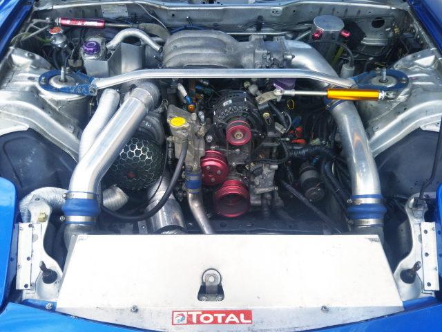 13B-REW ROTARY ENGINE WITH GCG SINGLE TURBO