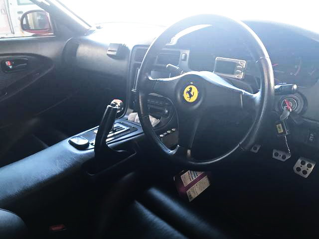 INTERIOR FERRARI REPLICA STEERING