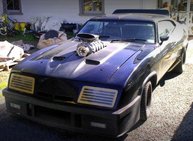 FRONT EXTERIOR V8 INTERCEPTOR REPLICA