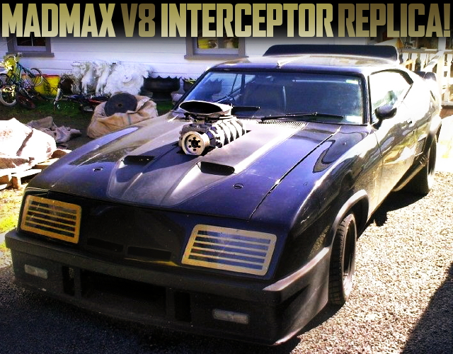 MADMAX V8 INTERCEPTOR REPLICA FALCON COUPE