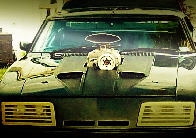 FRONT HOOD SUPERCHARGER