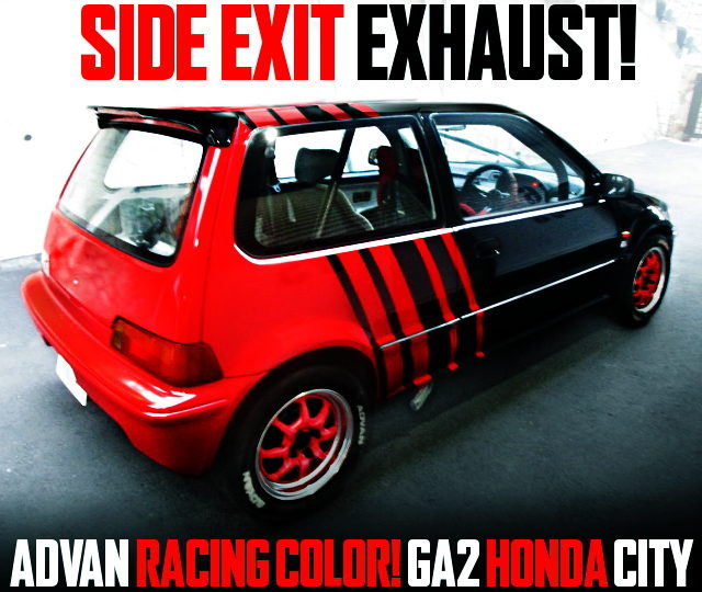ADVAN RACING COLOR GA2 HONDA CITY