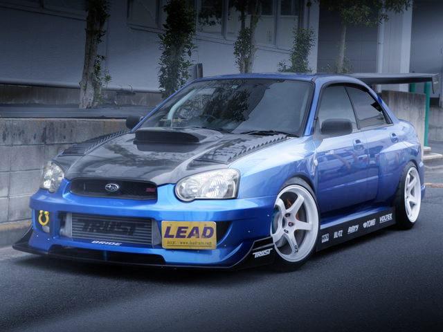 FRONT EXTERIOR WRC WIDEBODY GDB IMPREZA WRX STI