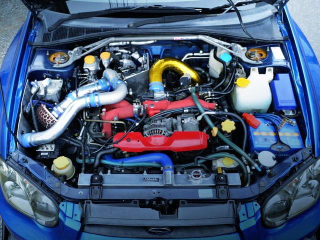 EJ207 BOXER ENGINE WITH TD06SH-20G TURBO