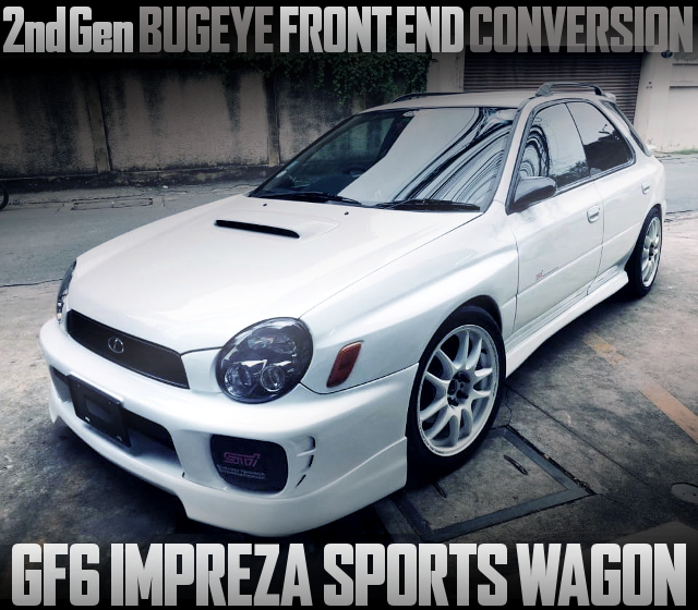 BUGEYE FACE GF6 IMPREZA SPORTS WAGON
