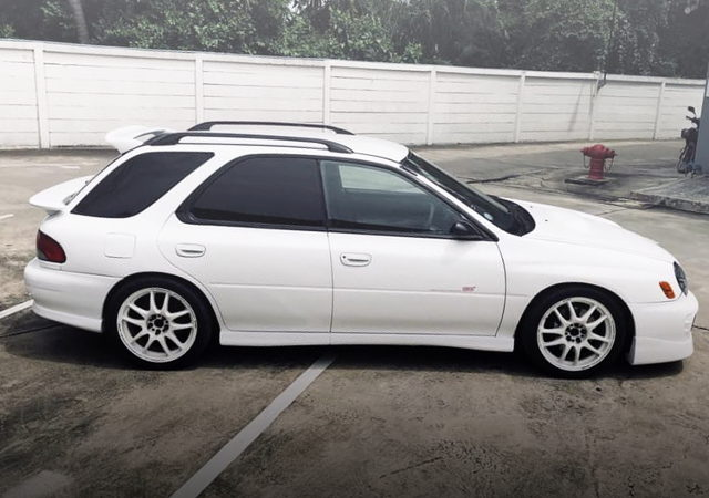 RIGHT SIDE EXTERIOR GF6 IMPREZA WAGON