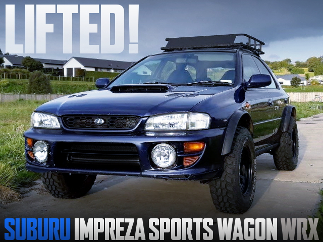 LIFTED CUSTOM GF8 IMPREZA SPORTS WAGON WRX