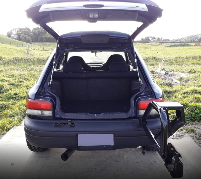 REAR TRUNK ROOM FOR GF8 IMPREZA WAGON WRX