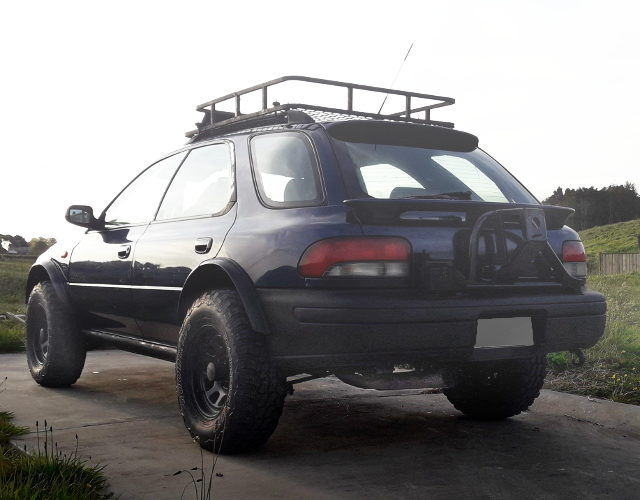 REAR EXTERIOR LIFTED GF8 IMPREZA WAGON WRX