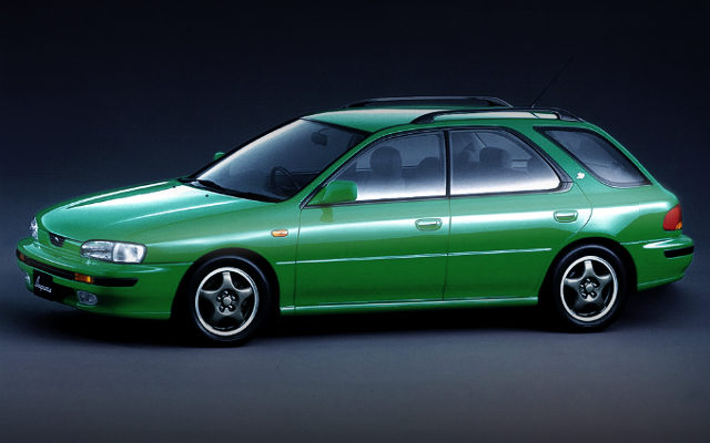 NORMAL 1st Gen SUBARU IMPREZA SPORTS WAGON GREEN