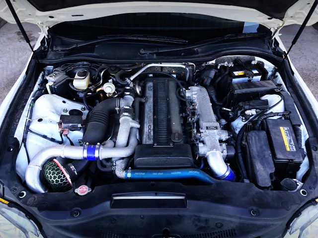 1JZ-GTE 2500cc TWINTURBO ENGINE