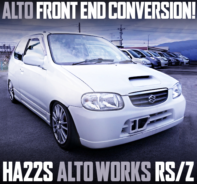 ALTO FRONT END HA22S ALTOWORKS RSZ