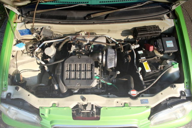 K6A TWINCAM IC TURBO ENGINE