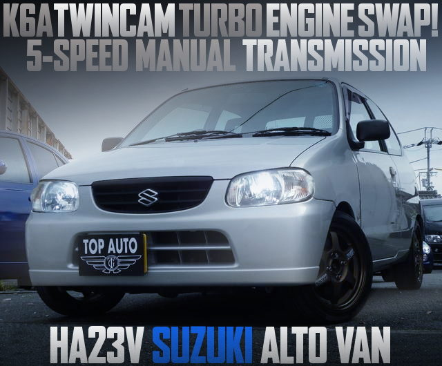 k6A TWINCAM TURBO ENGINE HA23V ALTO VAN