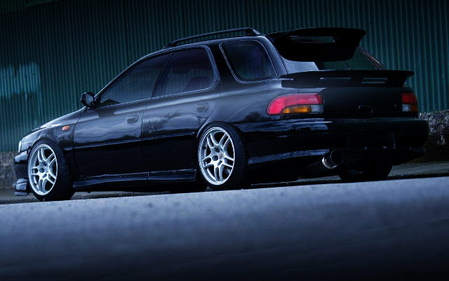 REAR EXTERIOR GF8 IMPREZA SPORTS WAGON
