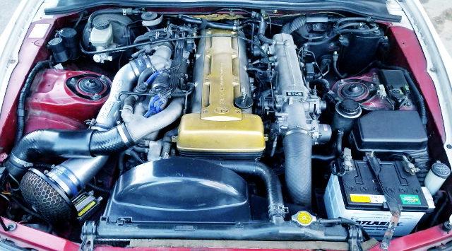 2JZ-GTE TWINTURBO ENGINE NON-VVTi