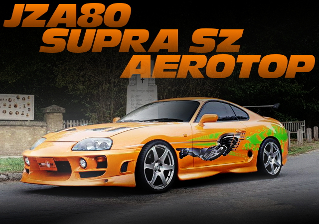 FAST AND THE FURIOUS REPLICA SUPRA