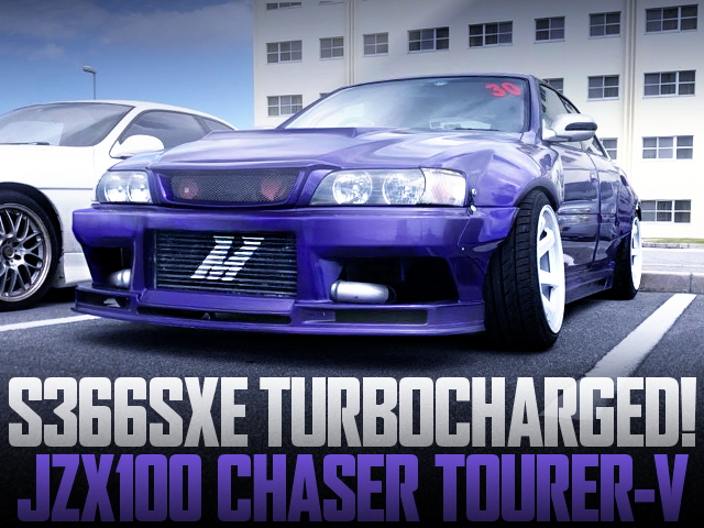 BORGWARNER S366SXE TURBO JZX100 CHASER PURPLE
