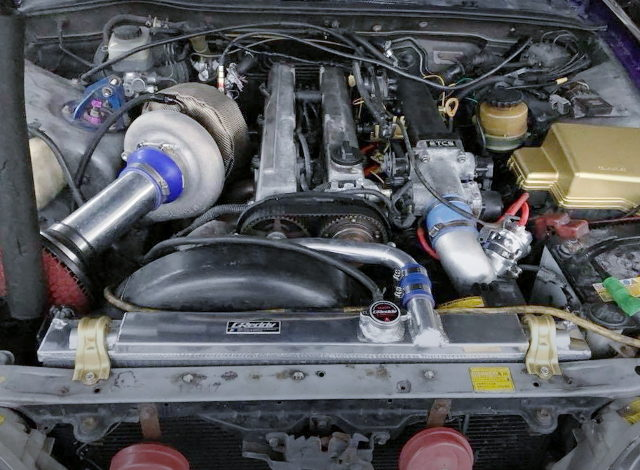1JZ-GTE ENGINE WITH S366SXE SINGLE TURBO