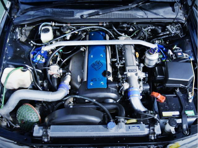 VVTi 1JZGTE TURBO ENGINE