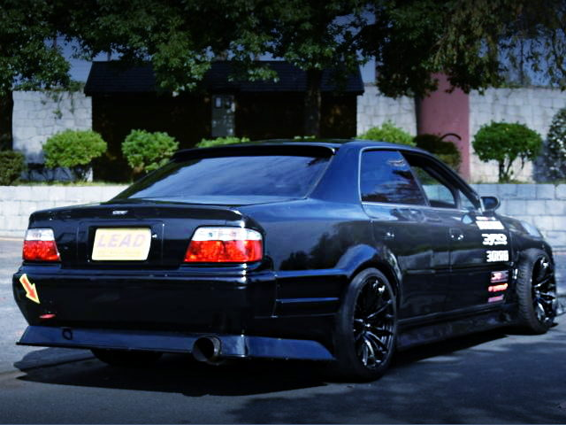 REAR EXTERIOR KUNNYZ WIDEBODY JZX100 CHASER