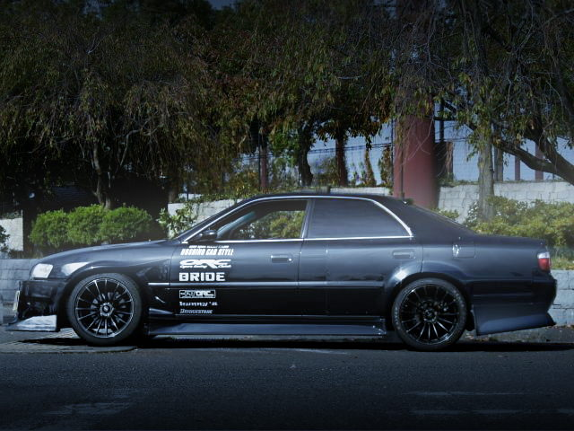 SIDE EXTERIOR JZX100 CHASER BLACK