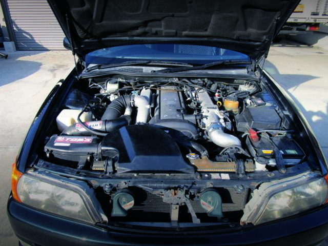 VVTi 1JZ TURBO ENGINE WITH 2JZ BLOCK