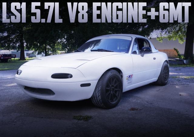 5700cc V8 LS1 ENGINE WITH 6MT NA MIATA MX5