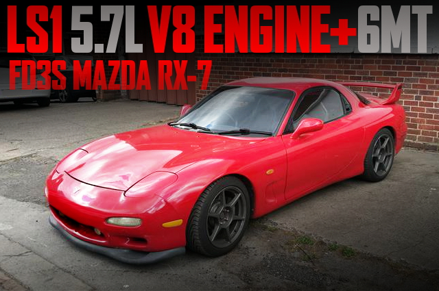 LS1 V8 ENGINE WITH 6MT FD3S RX7