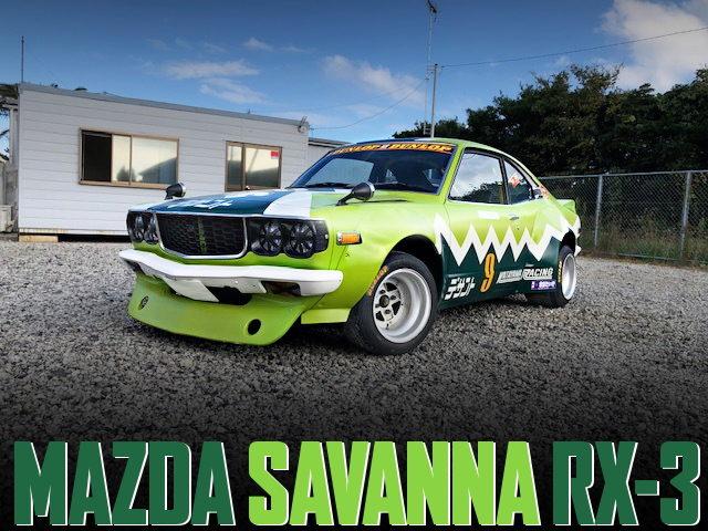 KATAYAMA RACING REPLICA SAVANNA RX-3