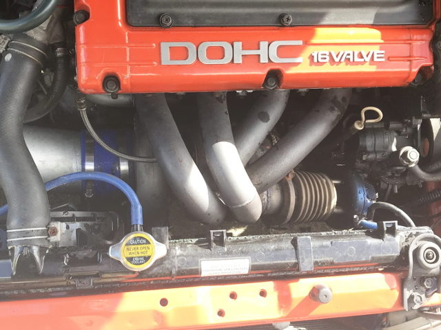 EXHAUST MANIFOLD ON 4G63T