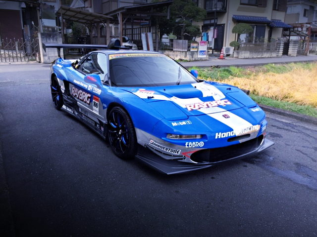 FRONT EXTERIOR RAYBRIG GT REPLICA NA1 NSX