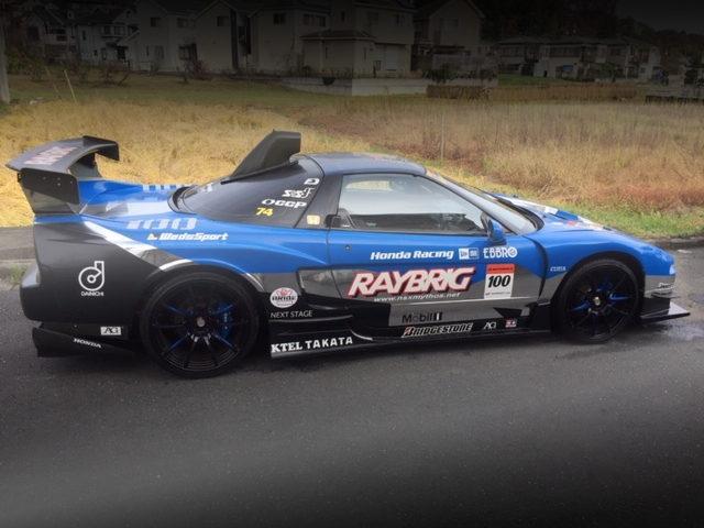 SIDE EXTERIOR RAYBRIG SUPER GT REPLICA NSX